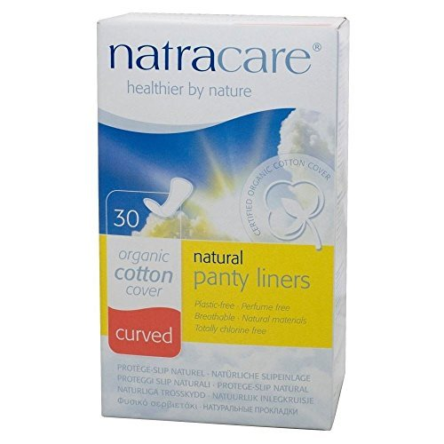 (Natracare Organic Natural Curved Panty Liners (30) - by NATRACARE )