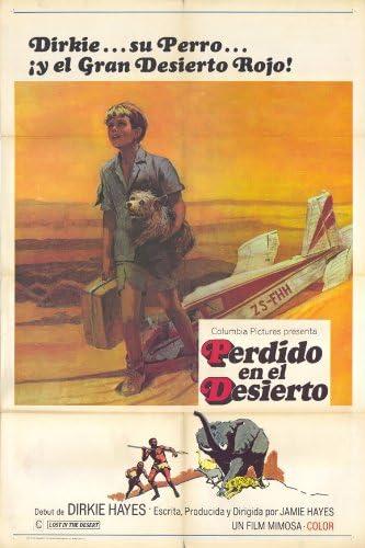 Póster De Película Lost En El Desierto Español 11 X 17 Dirkie Hayes Hayes Jamie Everything Else