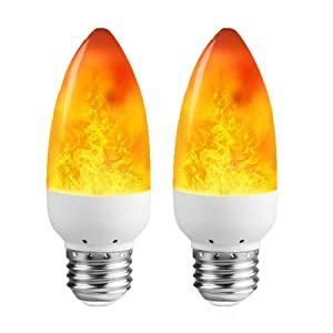 LEDERA LED Flame Light Bulb