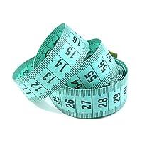 BUSDUGA Schneidermaßband/Maßband/Bandmaß, 150cm, verschiedene Farben inkl. Aufbewahrungsbox