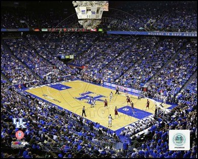 Rupp Arena University of Kentucky Wildcats 2012 Art Poster PRINT Unknown 10x8