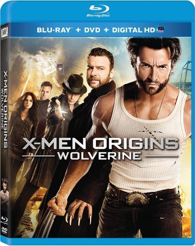 X-men Origins: Wolverine Blu-ray Triple Play Dhd