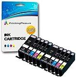 10 XL (2 SETS) Compatible PGI-550XL CLI-551XL Ink Cartridges for Canon Pixma iP7150 MG5450 MG5550 MG5650 MG6350 MG6450 MG6650 MG7150 MG7550 MX725 MX925 iP7250 iP8750 iX6850 - Black/Photo Black/Cyan/Magenta/Yellow, High Capacity