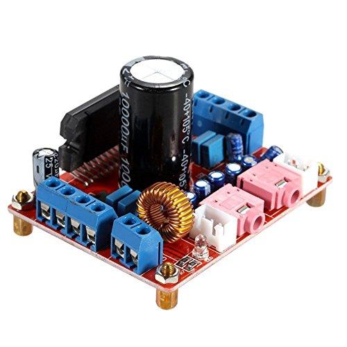 WINGONEER TDA7850 4x50W Car Audio Power Amplifier Board Module BA3121 Denoiser DC (Stereo Audio Isolation Module)