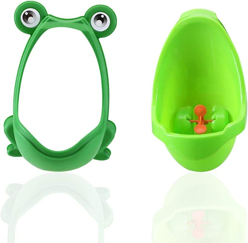 Orange LAAT 1Pcs Urinoir Enfant Urinoir Gar/çons Urinoir de Formation de Pot Grenouille Debout Pee Toilettes de B/éb/é