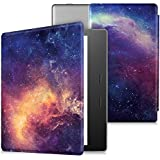 """CaseBot Case for Kindle Oasis (9th Generation, 2017 Release ONLY) - Super Slim and Lightweight Cover with Auto Wake/Sleep for Amazon All-New 7"""" Kindle Oasis E-Reader, Galaxy"""