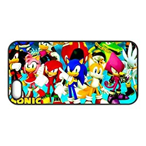Classic Video Game&Sonic the Hedgehog Series Case Cover for iPhone 5/5S- Personalized Hard Cell Phone Back Protective Case Shell-Perfect as gift