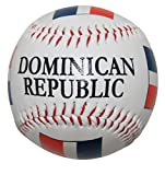 Dominican Republic Flag Souvenir Baseball