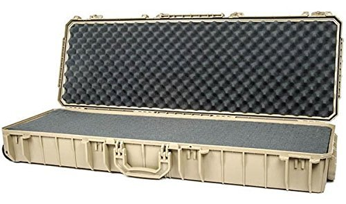 Seahorse SE1530 Protective Tactical Case with Foam, Large, Desert - Case Cabelas Gun