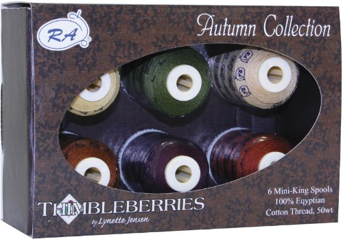 (Thimbleberries Cotton Thread Collections 500 Yards 1 pcs sku# 649166MA)