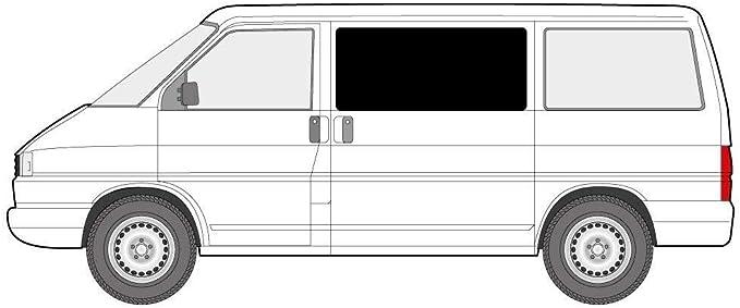 Just Kampers Juego de Cortinas Opacas para Puerta corredera y Puerta corredera opuesta Compatible con VW T4 Transporter: Amazon.es: Coche y moto
