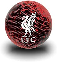 Icon Sports Liverpool FC Size 5 Soccer Ball, Black