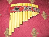 Pan Flute Curved 13 Pipes From Peru -Item in Usa- Case Included -