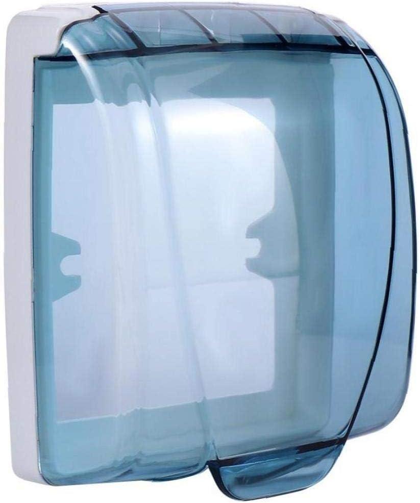 Aisoway Wand-Schalter wasserdichte Abdeckung Box Kunststoff klar Light Panel Sockel Flip Cap Wohnaccessoires
