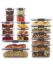 Rubbermaid Food Storage Containers, BPA-Free Plastic