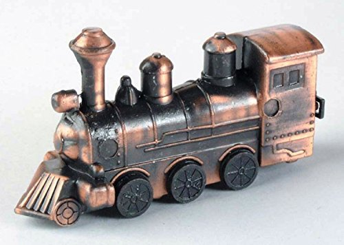 Antique Steam Locomotive Die Cast Metal Collectible Pencil Sharpener