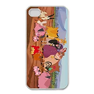 Personalized Durable Cases iPhone 4,4S Phone Case White Vrrum Home on the Range Protection Cover