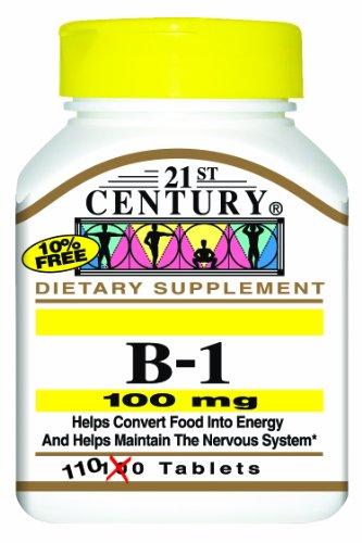 21e siècle B-1 comprimés, 100