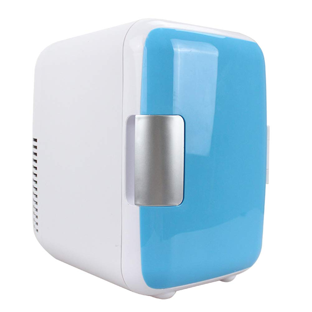 ALEXTREME Mini Fridge 4L Fridge Makeup Refrigerators Dual-Use for Home Room Car Travel