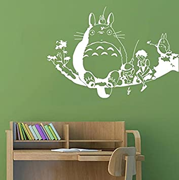 Delightful My Neighbour Totoro Wall Decor Decal Baby Kidu0027s Room Sticker Nursery Wall  Art Decor Mural ( Part 5