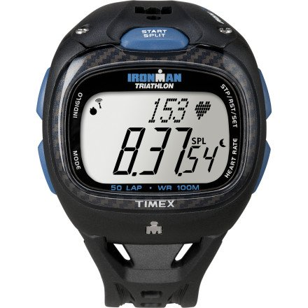 Timex Ironman Race Trainer Pro Digital Heart Rate Monitor Kit Black, One Size