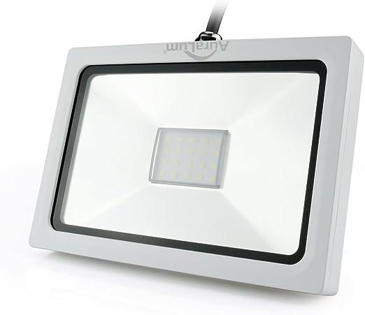 Auralum® Proyector LED 20W Lámpara Foco Energía Económico para ...