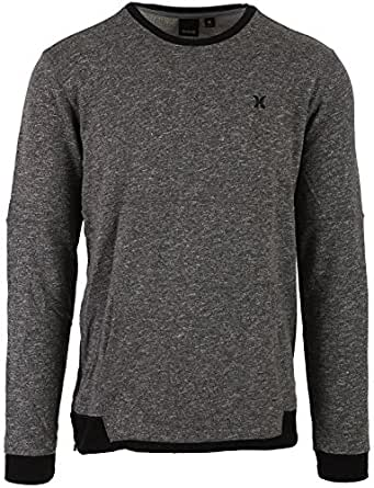 HURLEY Wilson Mens Sweatshirt, Black, Large