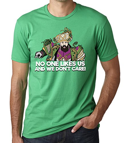 No One Likes Us and We Don't Care Shirt - Philly Speech Championship Football T-Shirt Green