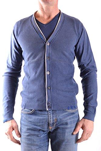 Fred Mello Men's MCBI380007O Blue Cotton
