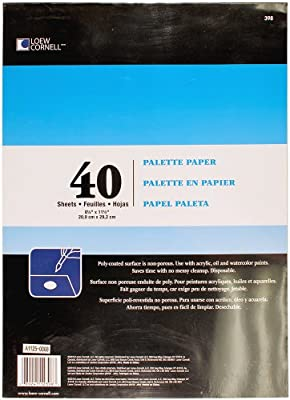Loew Cornell, Palette Paper Pad, 40 Sheets