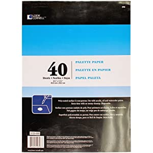 Loew-Cornell 398, Palette Paper Pad, 40 Sheets