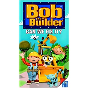 Bob The Builder - Can We Fix It? [VHS] (2001)