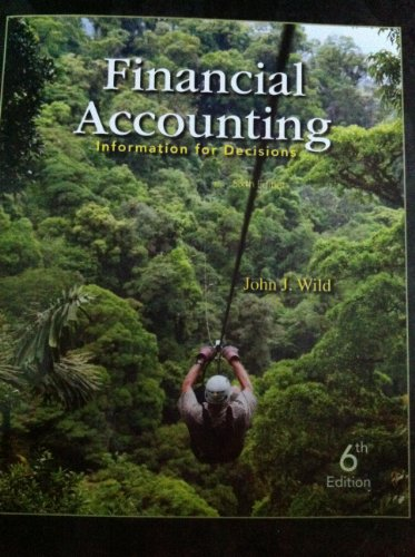 Financial Accounting (Financial Accouting: Information For Decisions, Sixth Edition)
