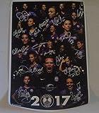 Orlando Pride 2017 team signed 12x18 Poster Alex Morgan, Marta, Ali Krieger NWSL - Autographed Soccer Photos