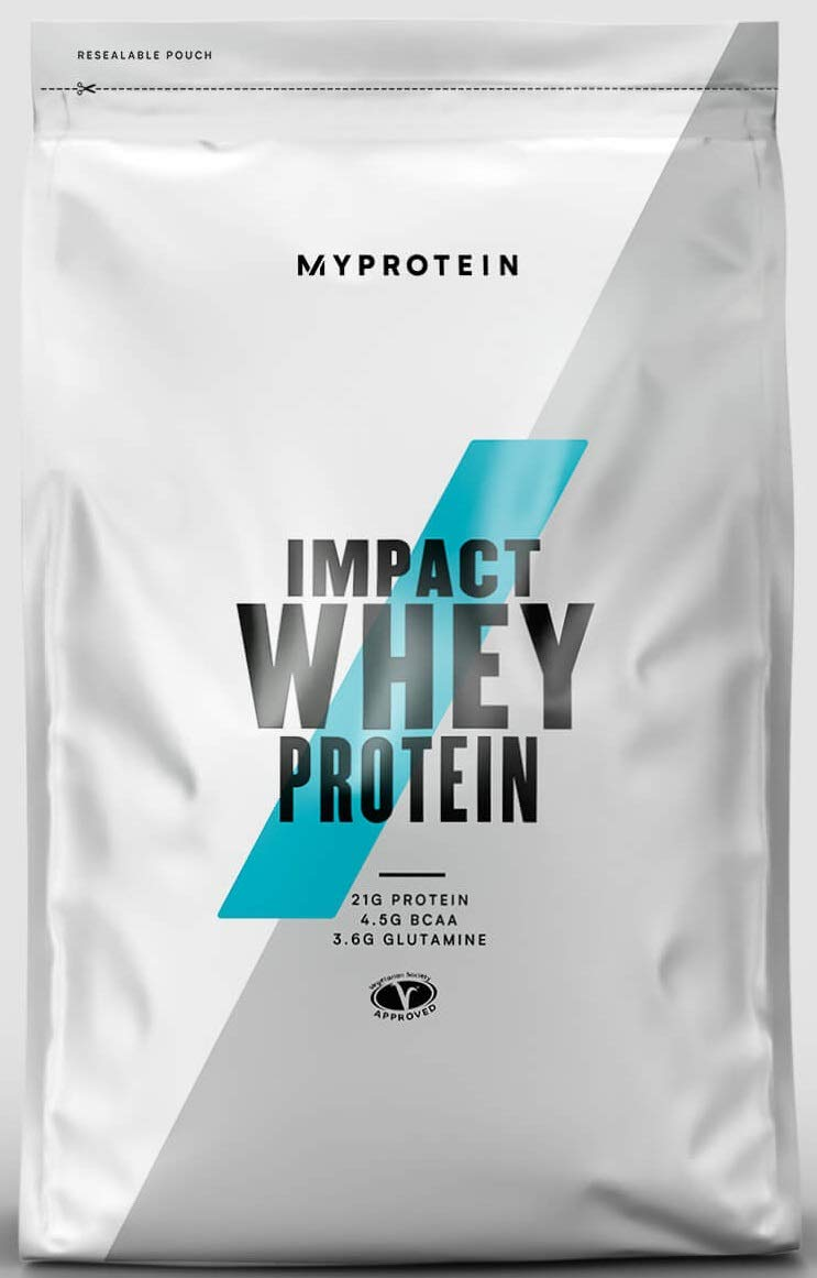 Myprotein Whey Protein Blend Natural Impact Healthy Rich Essential Nutrients Ideal for Hormone Balance, Mood, Diet, Muscles, Weight Loss, Energy - Gluten and Soy Free Vanilla Flavor 2.2 lbs by Myprotein