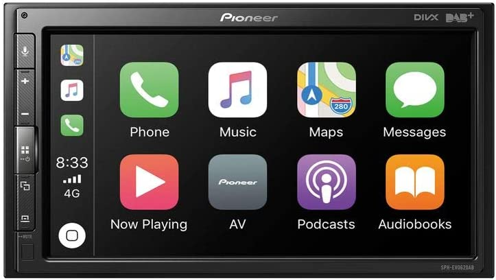 Pioneer SPH-EVO62DAB - Dab+   Bluetooth   Apple CarPlay   Android Auto   Spotify   Autoradio