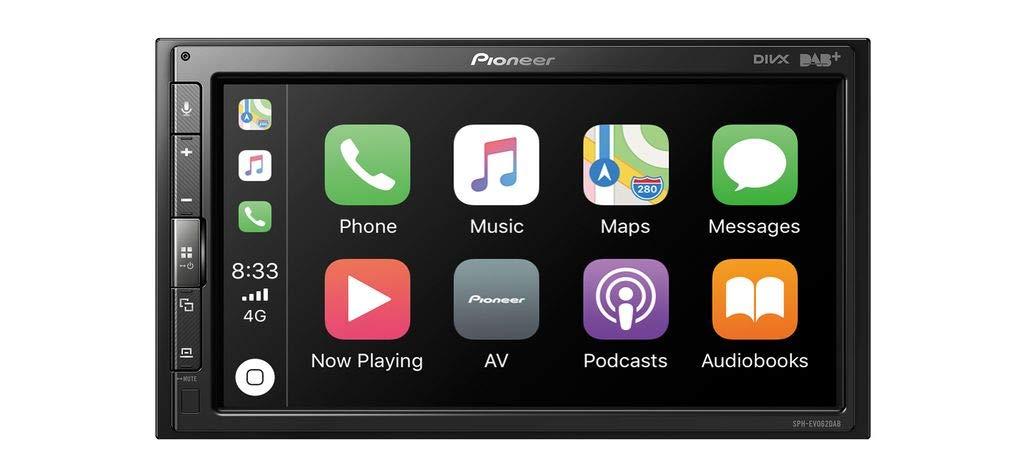 Autoradio Spotify Android Auto Apple CarPlay Bluetooth Pioneer SPH-EVO62DAB Dab+