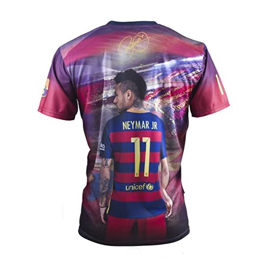 Fc Barcelone Maillot Barça - Neymar Jr - Collection Officielle Taille Adulte Homme
