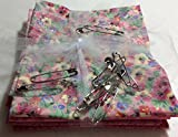 """OZARK MOUNTAIN QUILTER'S ECO-FRIENDLY 18""""x22"""" FAT QUARTERS FOR QUILTING WITH BONUS QUILT BASTING LARGE 2"""" SAFETY PINS FABRIC FOR QUILTING SEWING CRAFTING"""