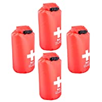 FITYLE 4PCS First Aid Dry Bag 5L Camping Hiking Kayaking Stuff Waterproof Dry Sack