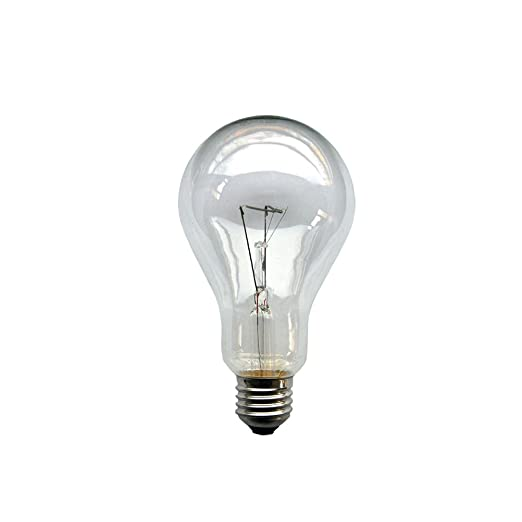10 x Glühbirne Birne 200W klar E27 Glühlampen Glühbirnen Glühlampe 200 Watt NEU