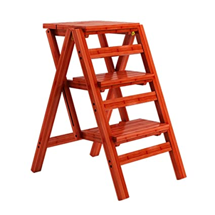 Fantastic Amazon Com Laxf Stool Folding Stepladder Creative Beatyapartments Chair Design Images Beatyapartmentscom