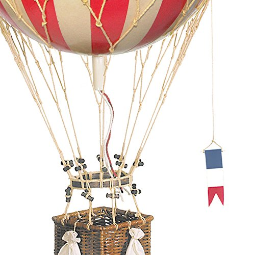 hot air balloon model red - 3
