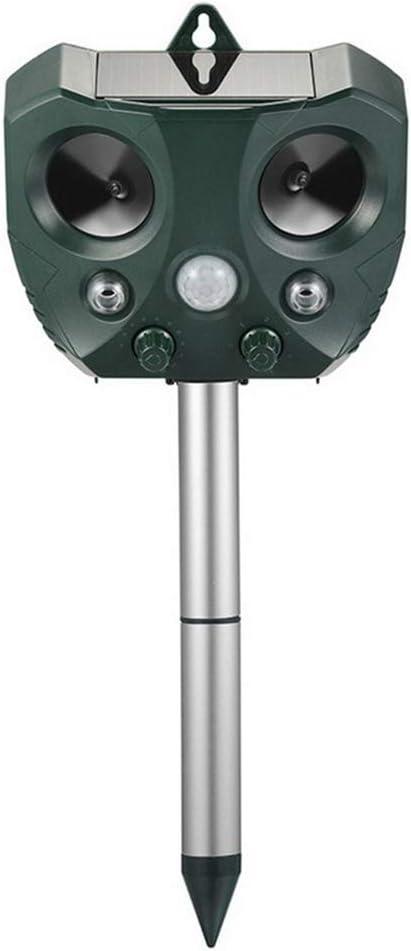 YZSL Repelente De Aves Solar, Repelente Ultrasónico Ratón Solar del USB Alimentado por Ultrasonidos Repelente De Insectos Impermeable Al Aire Libre Conveniente para El Jardín, Granja