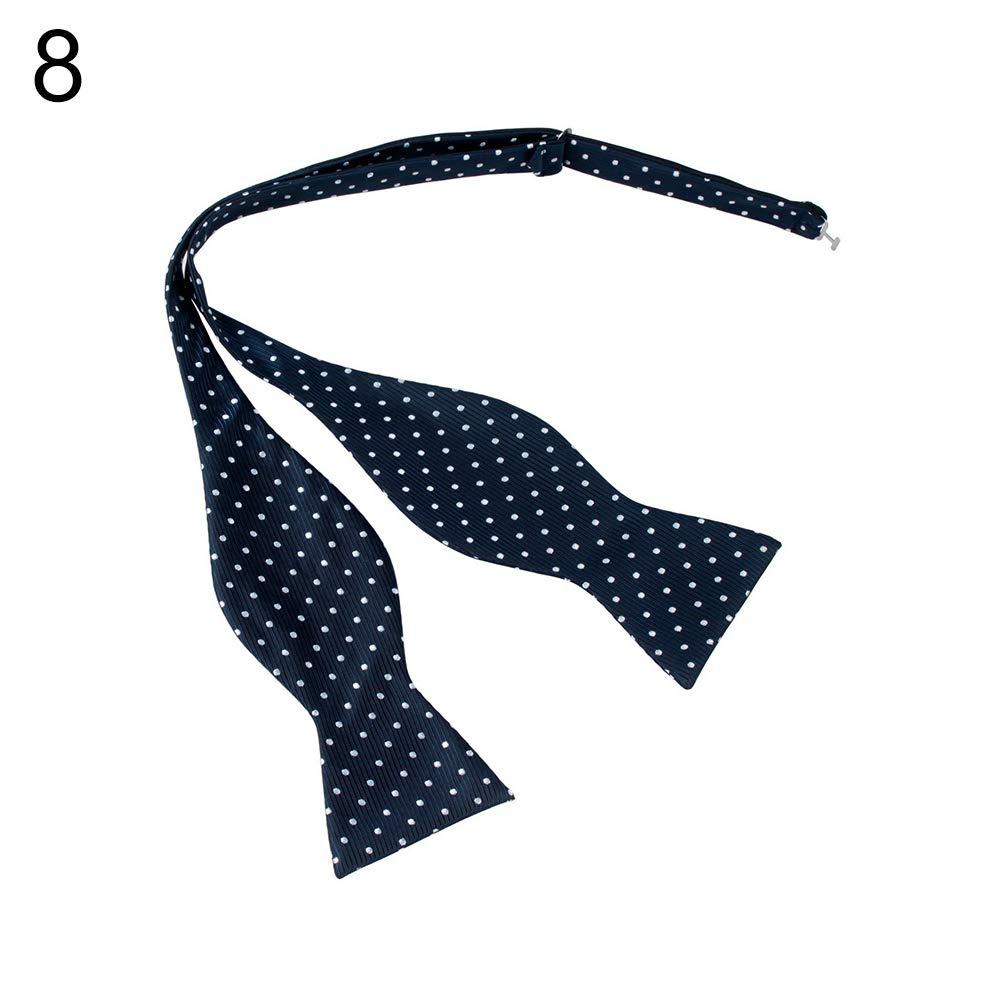 yanbirdfx Men Adjustable Self Bow Ties Necktie Neckwear Business Wedding Party Supplies - 12 by yanbirdfx (Image #8)