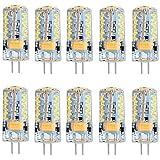 Lights Bulbs, 5W Silical Gel G4 Led Bulb 57 SMD 3014 AC DC 12V Top Lighting for Dining Room Chandeli