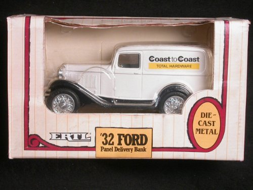 1932 Ford Panel Delivery Truck 1/25 Coin Bank by ERTL Coast to Coast