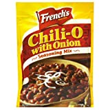 French's Chili-O Seasoning Mix, Chili-O with Onion, 2.25-Ounce Packets (Pack of 18)