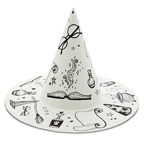 Wizard School Express Party Supplies Paper Wizard Hat Favors (16) by BirthdayExpress