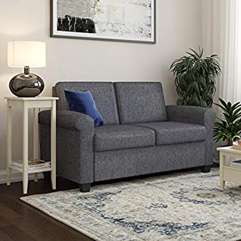 Amazon Com Dhp Logan Twin Sleeper Sofa Couch Pull Out Bed